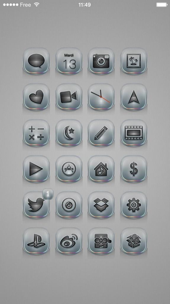[Theme] iOS 8対応 新作テーマ12種!! Afresco, Gauzy, Metropolitan,他9種(Winterboard)