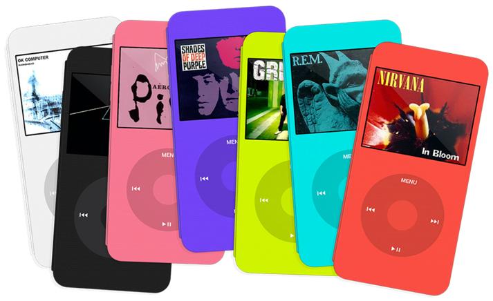 iPhoneがiPod classicそっくりになるケースカバー [コンセプト]